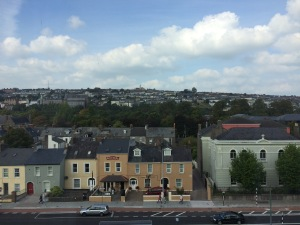 View from Cork hotel.
